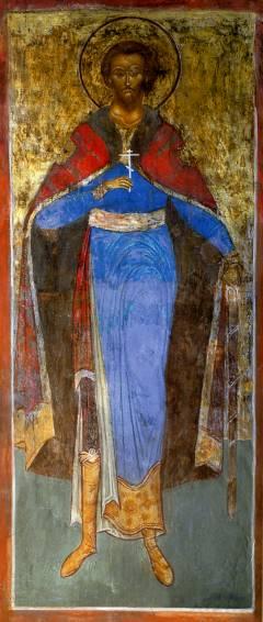 Образ святого благоверного князя Андрея Боголюбского