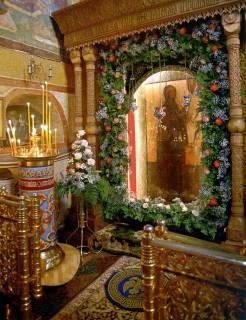 Успенский собор Княгинина монастыря, Боголюбская икона Божией Матери