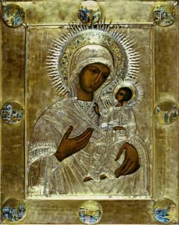 Икона «Богоматерь Иверская в чудесах»