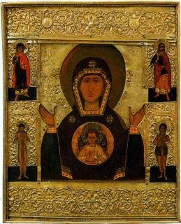 Икона «Богоматерь Знамение»