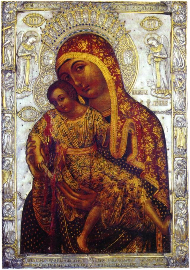 список икон божьей матери: