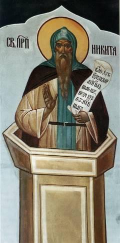 Ники��кий м�ж�кой мона����� П�еподобн�й Ники�а С�олпник