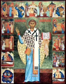 Икона священномученика Климента, папы Римского