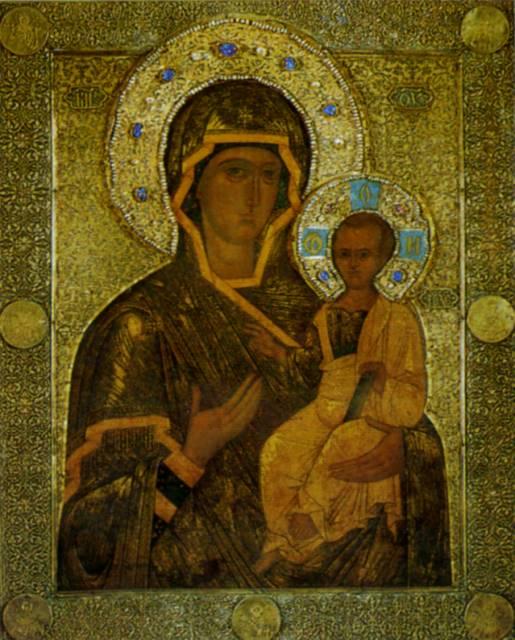 Смоленская икона Божией Матери: vidania.ru/icony/icon_smolenskaya.html