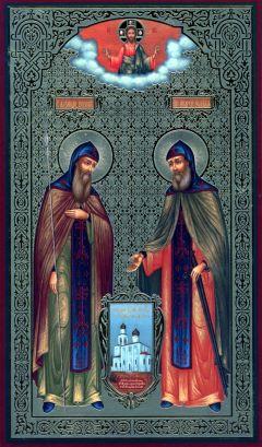 Церковь Рождества Богородицы в Старом Симонове, Пересвет и Ослябя