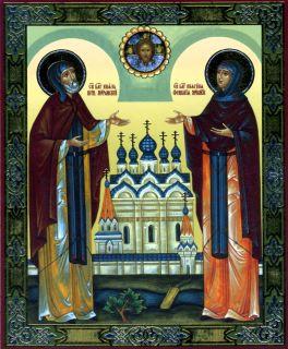 Икона благоверных и преподобных супругов Петра и Февронии