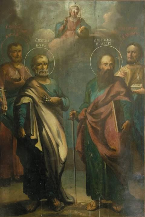 Икона Святых апостолов Петра и Павла в ...: vidania.ru/apostolpavel.html