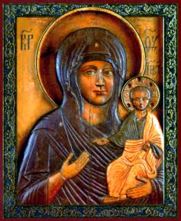 Икона Влахернской Божией Матери