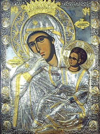 Ватопедская (Отрада или Утешение) икона Божией Матери
