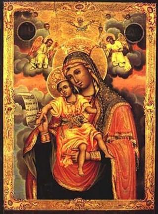 Достойно есть (Милующая) икона Божией Матери