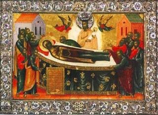 Успение (Киево-Печерская) икона Божией Матери