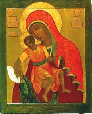 «Милостивая» Киккская икона Божией Матери