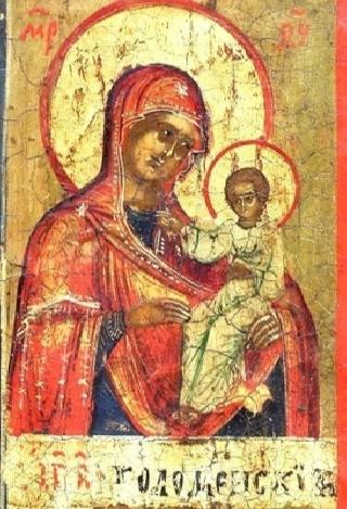 коломенская икона: