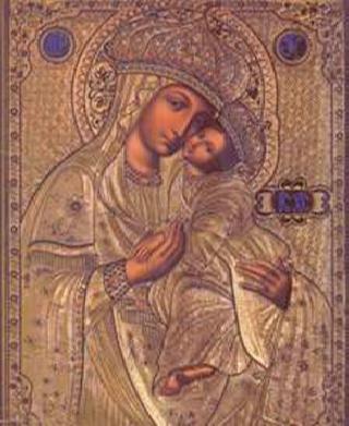 Корецкая (Споручница грешных) икона Божией Матери