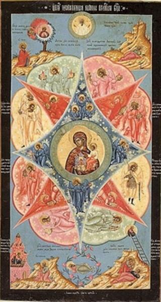 «Неопалимая Купина» чудотворная икона Божией Матери