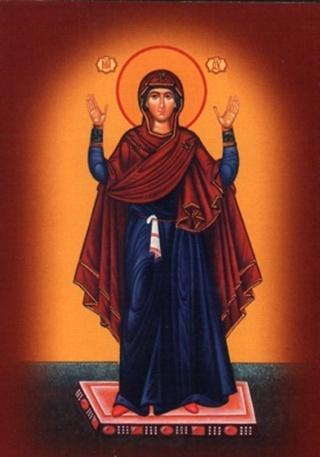 молитва иконе нерушимая стена: