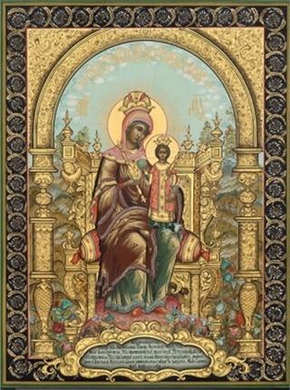 """Также наименование Богородицы  """"Неувядаемый цвет """" восходит к канону Иосифа..."""