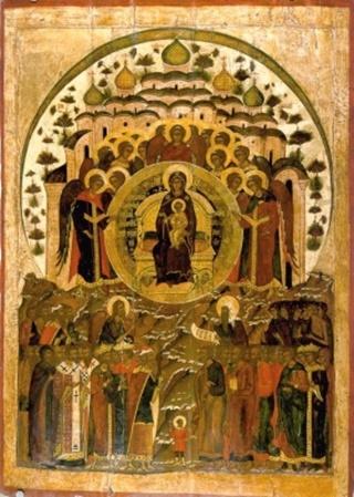 "О Тебе радуется"" икона Божией Матери.: vidania.ru/icony/icon_o_tebe_raduetsya.html"