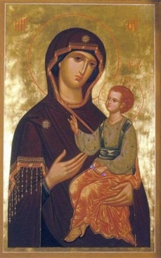 фото иконы одигитрия
