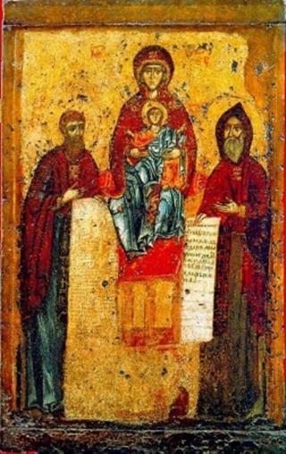 Печерская (Свенская) икона Божией Матери