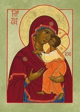 икона божьей матери трех радостей: