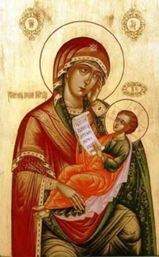 «Утоли моя печали» икона Божией Матери