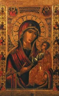 Избранные иконы Новодевичьего монастыря в Москве