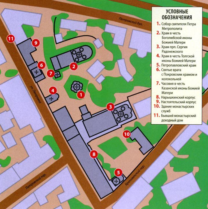 План Высоко-Петровского