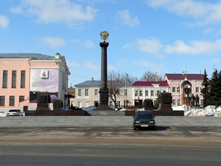 Липецкая область, Елец, Красная площадь.