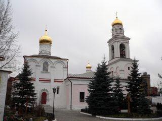 Церковь Рождества Богородицы в Старом Симонове, колокольня