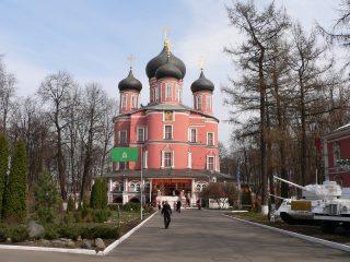 Донской мужской монастырь в Москве, Собор Донской иконы Божией Матери