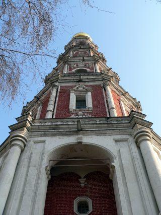 Новодевичий монастырь в Москве, колокольня.