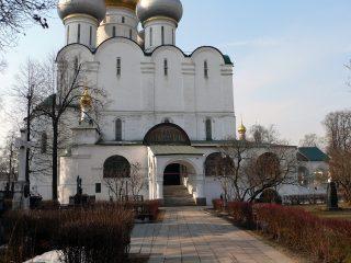 Новодевичий монастырь в Москве, Смоленский собор.