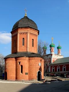 Высоко-Петровский  мужской  монастырь,  собор  святителя  Петра  Митрополита