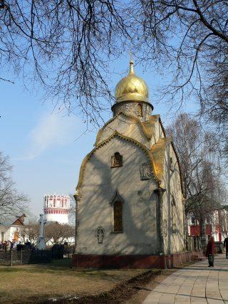 Новодевичий монастырь в Москве, Часовня Прохоровых.