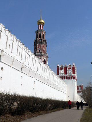 Новодевичий монастырь в Москве.