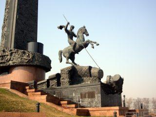 Поклонная гора в Москве. Георгий Победоносец