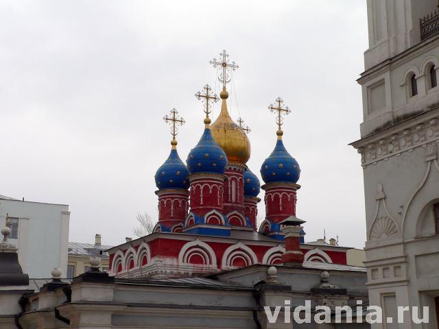 Церковь георгия на псковской горе