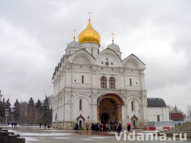 архангельский собор фото москва