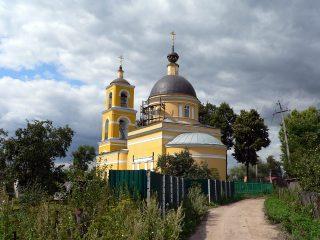 Чеховский район, Крюково, церковь Николая Чудотворца