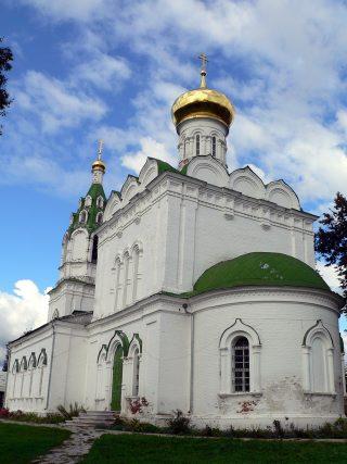 Бужарово, Преображенская церковь