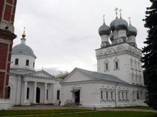 Бронницы, храмовый комплекс, Архангельский собор, Иерусалимская церковь, колокольня