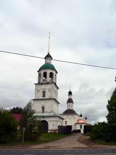 Успенский Колоцкий женский монастырь, село Колоцкое