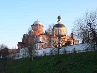 Рассказ о поездке в Хотьково в 2010 году.  Покровский Хотьков ставропигиальный женский монастырь.