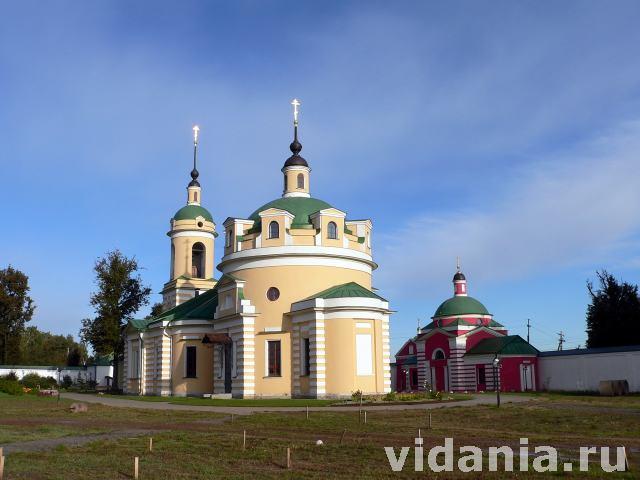 Монастыри московской области доклад 831