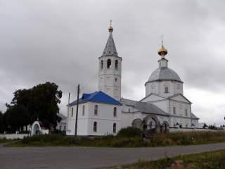 Суздаль, Санино, Свято-Никольский женский монастырь