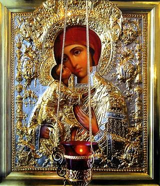 Коломна, Феодоровская икона Божией Матери. Храм св. апостола Иоанна Богослова.