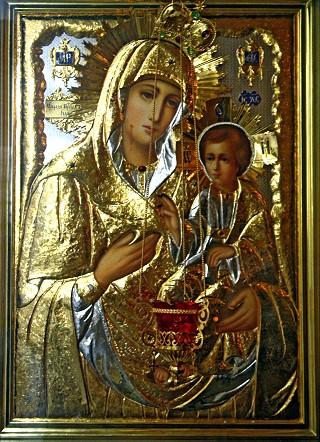Коломна. Храм апостола Иоанна Богослова. Иверская икона Божией Матери.
