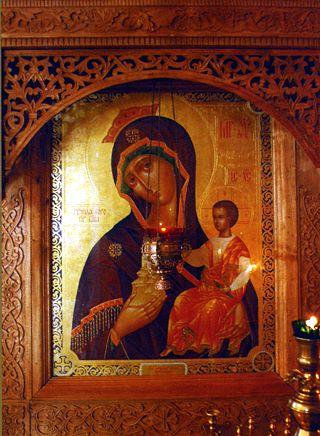 Храмовая чудотворная икона Божией Матери «Тучная Гора».
