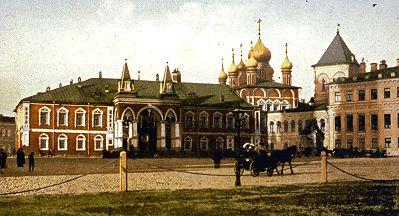 Чудов монастырь. Открытка начала XX века.